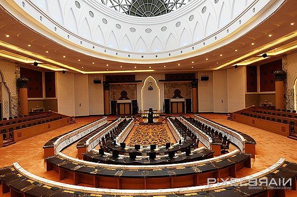 Interior Dewan Undangan Negeri Johor Branding